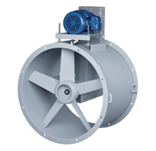 Aerovent Tubeaxial Fans
